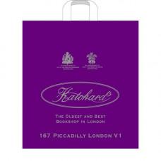 (Артпласт) Хатчард фиолетовый пакет с петл. ручкой 30*33 90мкм 50/500