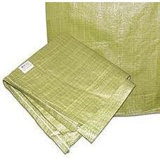Мешок строительный ПП 55*95 зеленый 100/1000