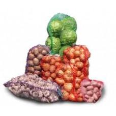 Сетка-мешок д/овощей 50*80 фиолетовая 29 гр. (до 40 кг) 100/2000