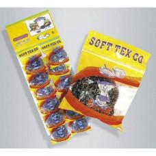 Губка д/посуды металл SOFI TEX карта 12/720