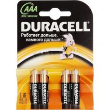 Батарейки DURACELL ААА мизинч. 2/20/1200