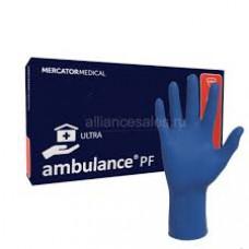 Перчатки латекс повыш. прочности 16гр AMBULANCE (S) 25/250 НОВИНКА!!